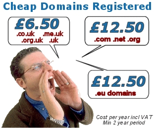 Domain Name Registration with Free Forwarding